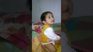 Lovely Baby playing