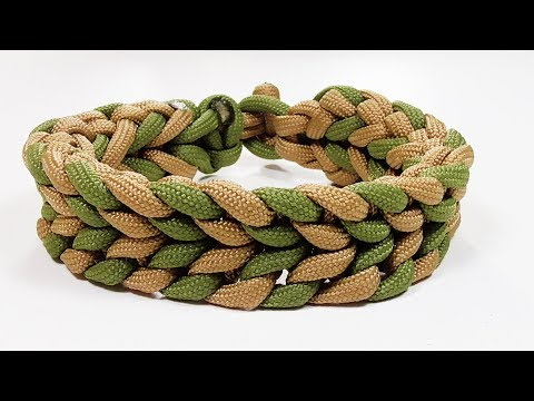 Paracord Tutorial: Waterless Falls Parachute Cord Bracelet Design