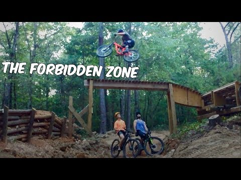 25 jumps, 35ft road gap, and one rad trail! | The Forbidden zone, Chewacla State Park