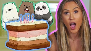 Download GIANT Ice Cream Cake ft. LaurDIY | We Bare Bears Video