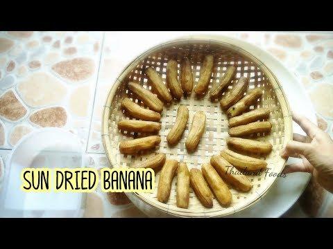 Thai Foods   Sun Dry Banana