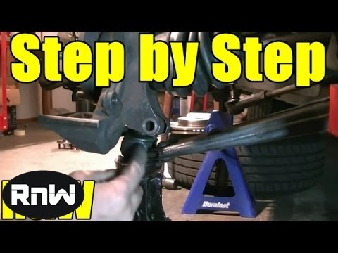 How to Replace the Wheel Bearing and Hub Assembly on a Ford Focus Part 1