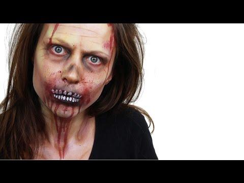 Halloween Zombie Face Paint Tutorial | Snazaroo