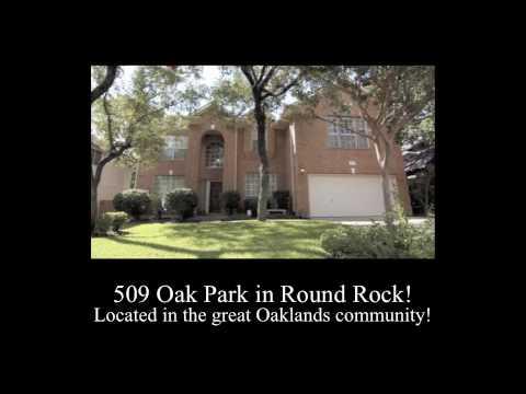 Round Rock Owner Finance 509 Oak Park