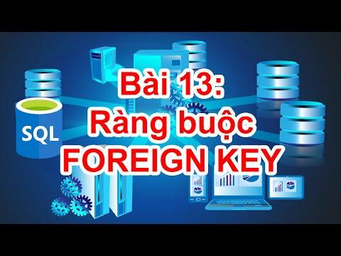 SQL-15A: Ràng buộc FOREIGN KEY trong SQL Server