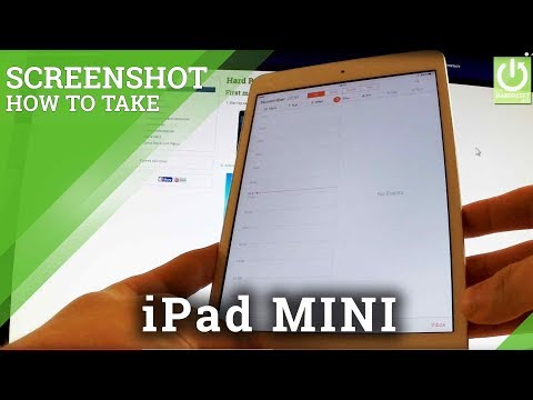 How to Take Screenshots on APPLE iPad mini - iPad Screenshot Tutorial