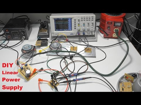Simple DIY Linear Power Supply Project