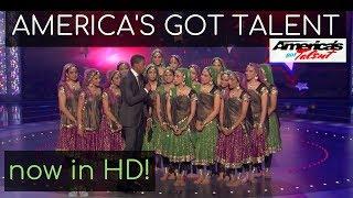 [HD] America's Got Talent Wild Card Show | Top 25 | Kruti Dance Academy