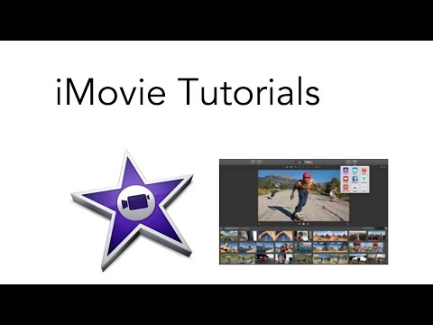 iMovie Tutorial | Starting A Project | Part 1