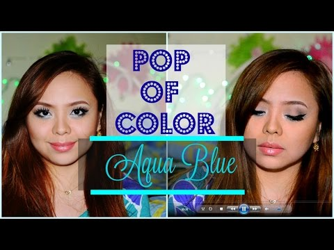 POP OF COLOR | AQUA BLUE | micsemotions