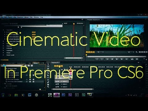 How To Make Video Cinematic! | Adobe Premiere Pro CS6 |