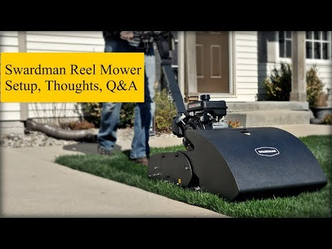 Swardman Reel Mower Setup and Initial Thoughts + Q&A