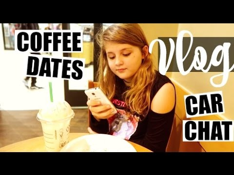 VLOG / COFFEE DATE & CAR CHATS