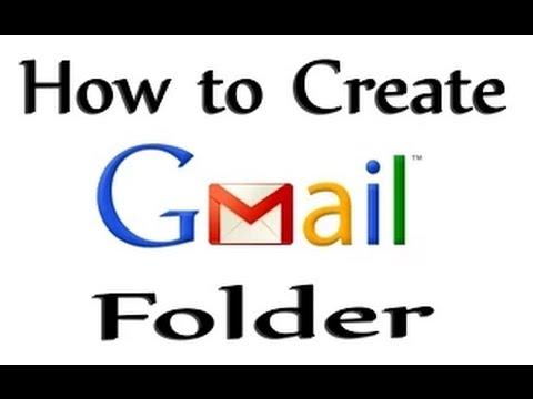 How To Create Folder On Gmail 2015 In Hindi/urdu