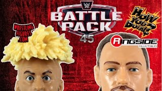 WWE FIGURE INSIDER: Enzo Amore & Big Cass - WWE Battle Packs 45 Toy Wrestling Action Figures