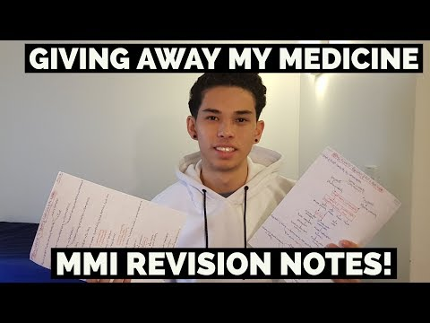 I'M GIVING AWAY MY MEDICINE MMI REVISION NOTES!