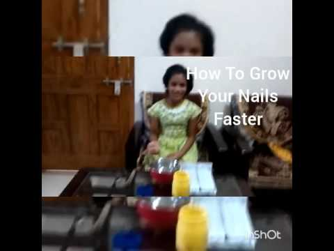 How to grow your nails faster in 1 hour read description