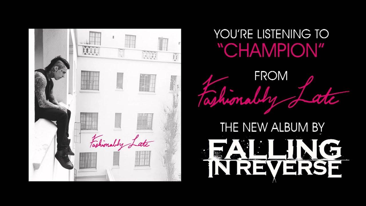 """Falling In Reverse - """"Champion"""" (Full Album Stream)"""