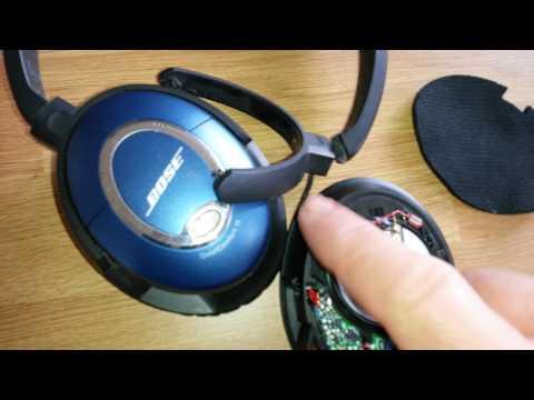 Bose Quiet Comfort 15 headphone repair.