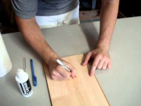 Removing Sharpie from Surfaces Using Amodex (White Board, Laminate Flooring, Tile)