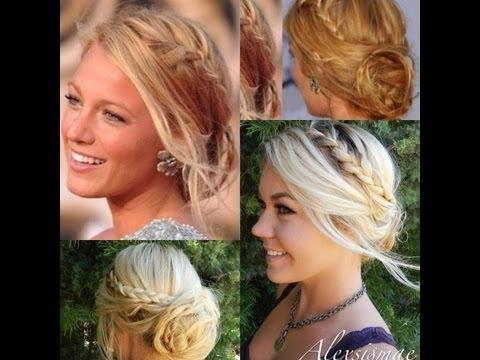 ♥♥♥Blake Lively Messy Braided Hair Updo♥♥♥