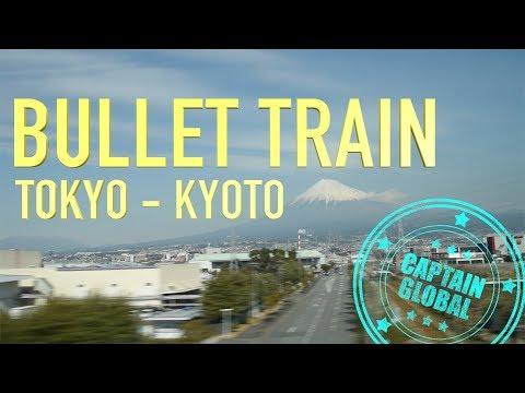 Shinkansen Bullet Train: Tokyo to Kyoto Travel guide (4K)