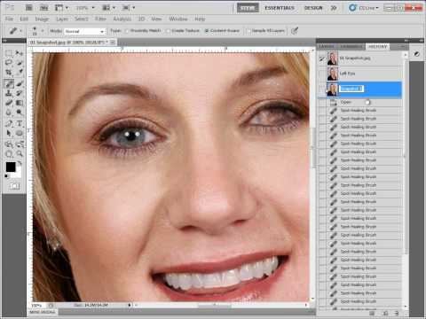 Creating Snapshots in Photoshop CS5