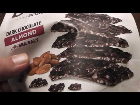 Snack Crack - Bark Thins Snacking Chocolate Almond with Sea Salt - Pretty Good
