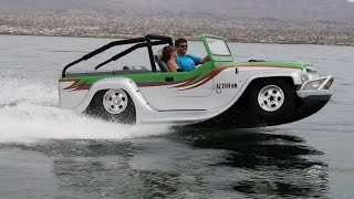 H2-GO! Amphibious Car Hits Speeds Of 45mph On Water