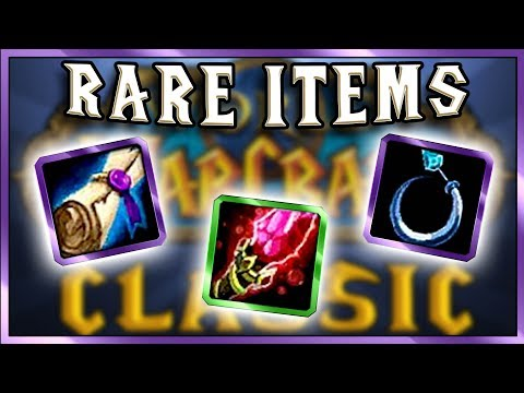 7 Vanilla WoW Rare and Expensive Items that will return in Classic.