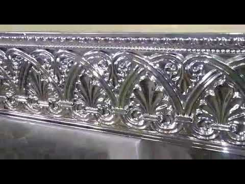Metallic chrome finish for wood, spray paint by Da Vinci Designs Cabinetry