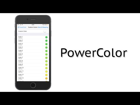 Add Some Color to the Battery Icon in the Status Bar | PowerColor Cydia Tweak Review