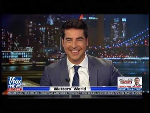 Scaramucci Reacts Watters' Words - Trump Witch Hunt - Watters Words