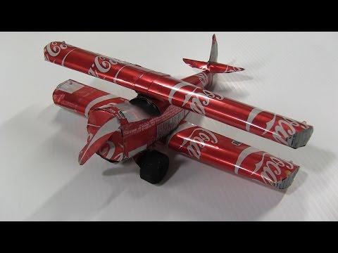 [D.I.Y.] How to Make a Coca Cola Aircraft