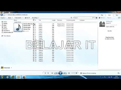 Cara Mudah Convert Audio CD ke Mp3