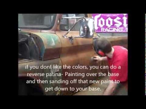 How to: PATINA paint job... Rat Rod BAGGED c10