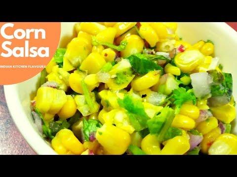 Corn Salsa | Chipotle style Corn Salsa | Sweet Corn Salsa