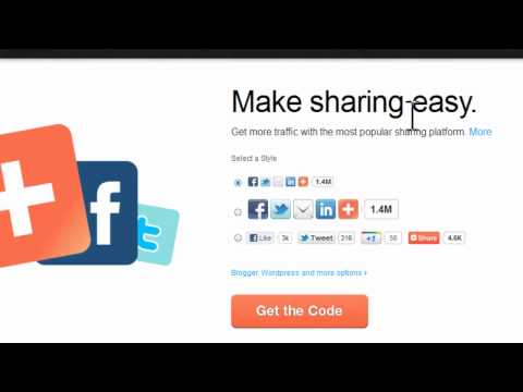 Weebly Tutorial : Add Share Button in Weebly