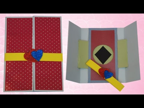Shutter Card for Valentine | TCraft