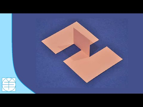 How to Make The 'Impossible Paper' Illusion. (Instructions) (Full HD)