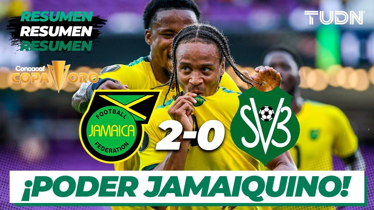 Resumen y goles   Jamaica 2-0 Surinam   Copa Oro 2021   Grupo B   TUDN