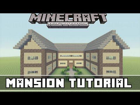 Minecraft Xbox 360- Easy Mansion Tutorial