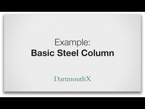 Calculate if a column can can support a load
