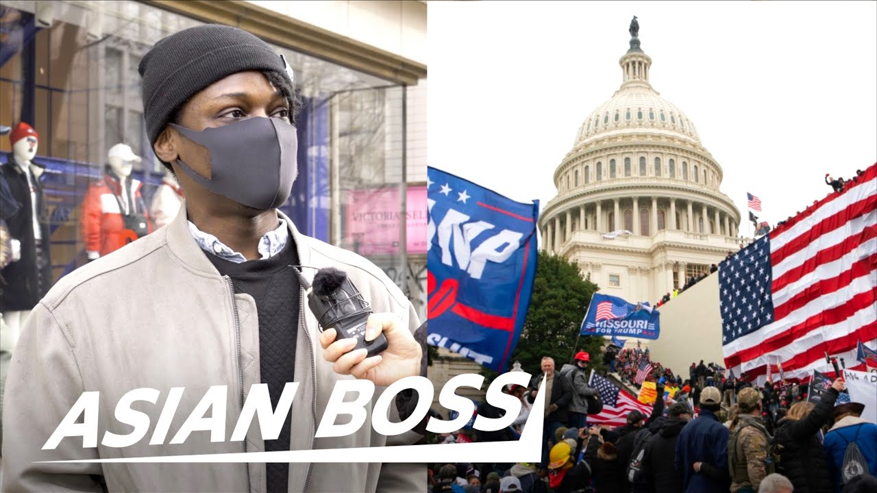 American Expats In Japan React To The US Capitol Riot   STREET INTERVIEW