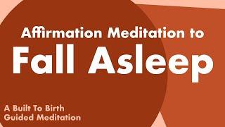 Affirmation Meditation to Fall Asleep   Postpartum Sleep Meditation