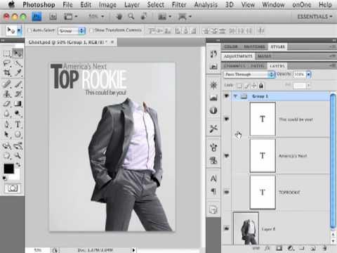 photoshop cs4 Delete A Layer.mp4