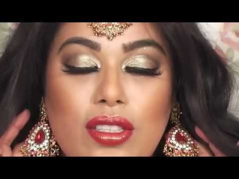 INDIAN PAKISTANI BRIDAL MAKEUP   YouTube
