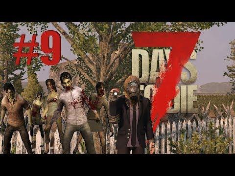 7 Days to die   May horde kahit umaga #9 (TAGALOG)