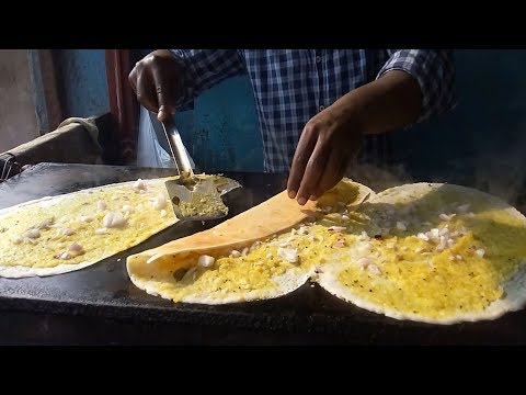 3 dosa in 3 minutes – Street food – amazing taste