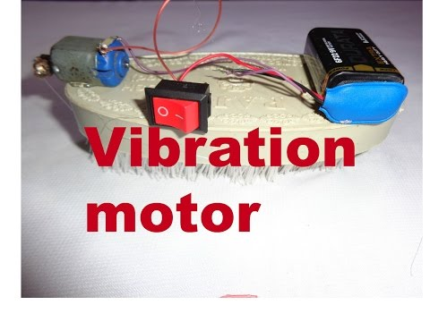 how to make vibration motor at home..//How to Make a Mini BristleBot